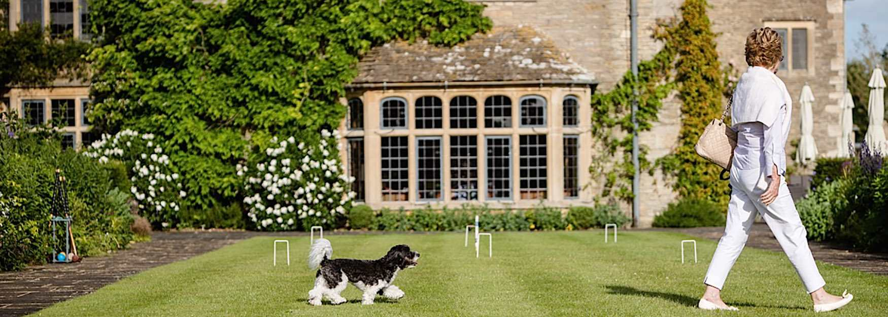 Whatley Manor - just one of the Cotswolds' many dog friendly hotels