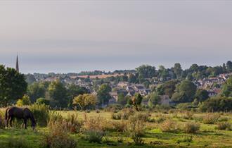 View towards Burford