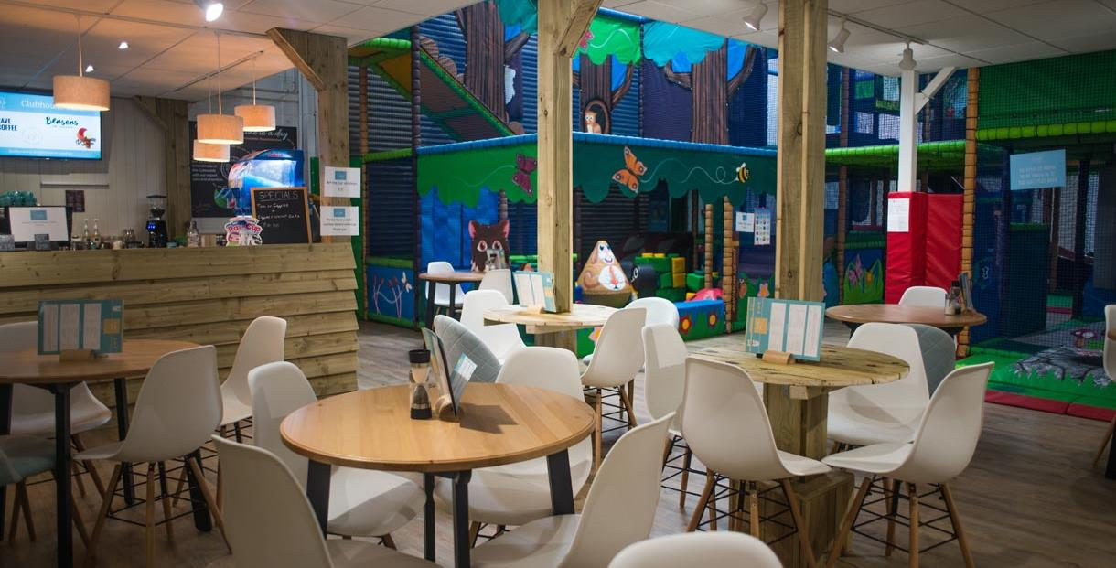 Cotswold Clubhouse - the cafe and soft play