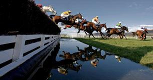 Racing at Cheltenham on News Year's Day