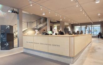 Cheltenham Tourist Information Centre in the Wilson Centre