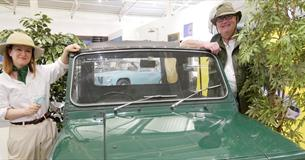 Exploring nature in the Collection at the British Motor Museum