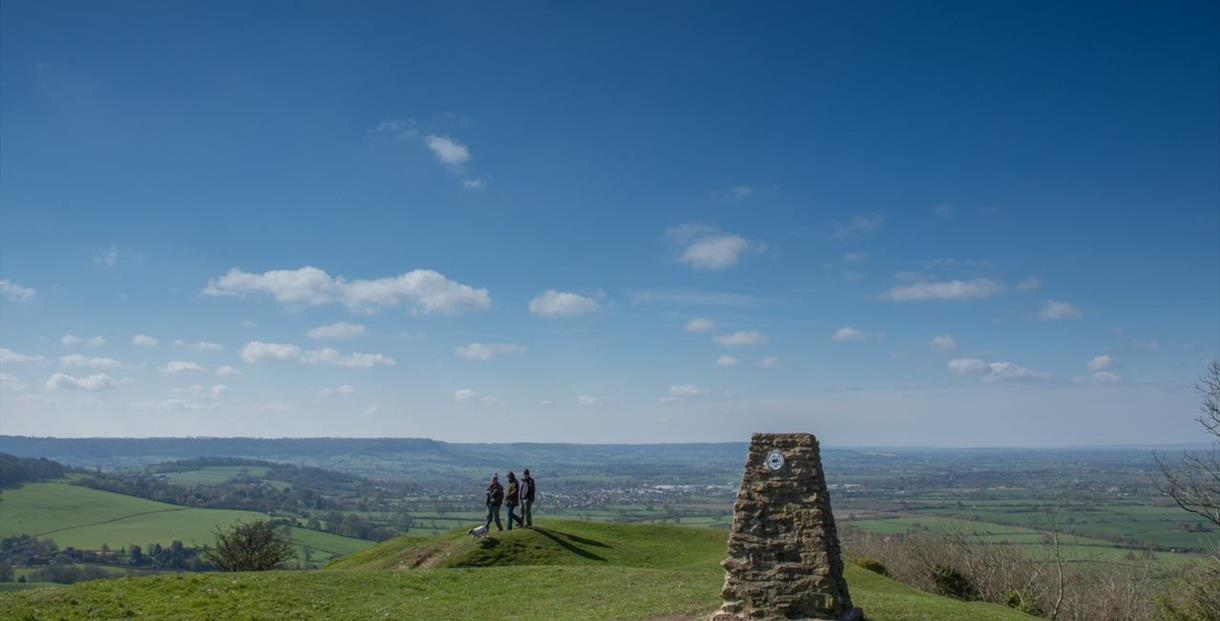 Viewpoint along the Cotswold Way