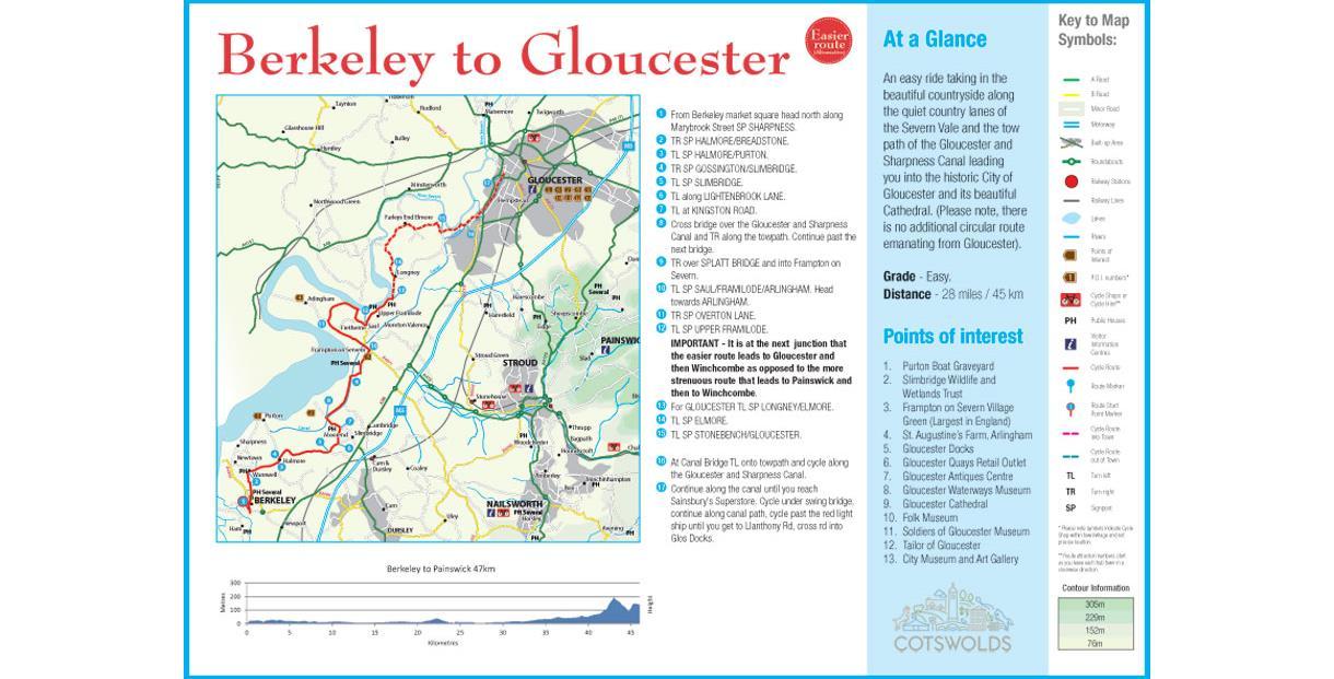 Cycle Tour - Day 3 - Berkeley to Gloucester