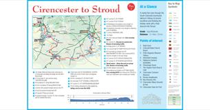 Cycle Tour - Day 7 - Cirencester to Stroud