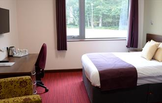 Phoenixetc at the Fire Service College - one of the bedrooms