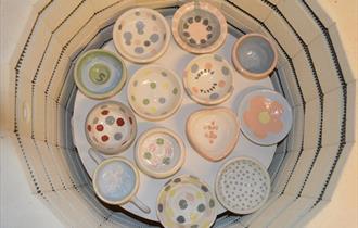 Customer Pots in Kiln