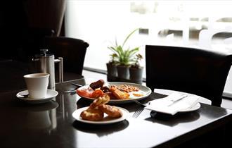 The Tara Restaurant at Hatton Court Hotel