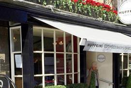 Huffkins cafe in Burford