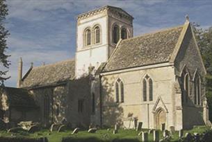 St Matthew's church in Langford (© Derek Cotterill)