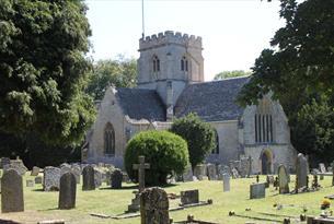 St Kenelm's church in Minster Lovell near Witney