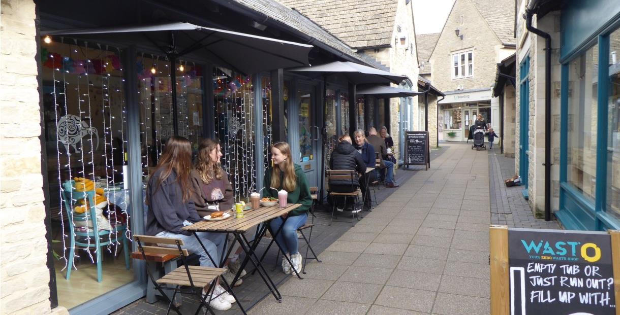 Eden Cafe, Witney