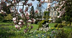 The gardens at Barnsley House