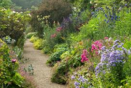 The gardens of Rousham House (photo Harpur Garden Images)