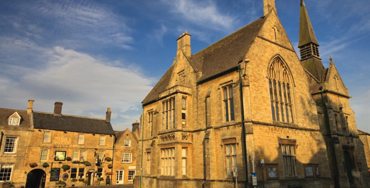 St Edward's Hall - location of Stow-on-the-Wold Visitor Information Centre