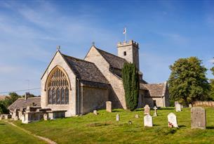 St Mary's Church in Swinbrook