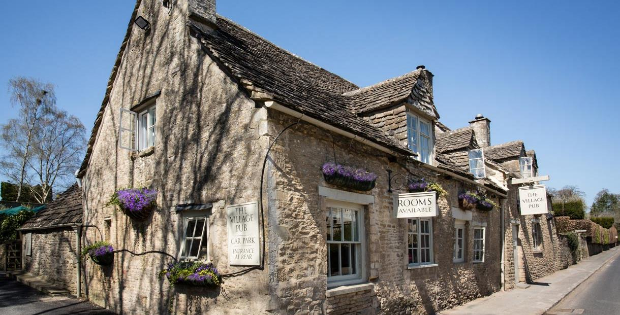 Exterior shot of the Village Pub, Barnsley
