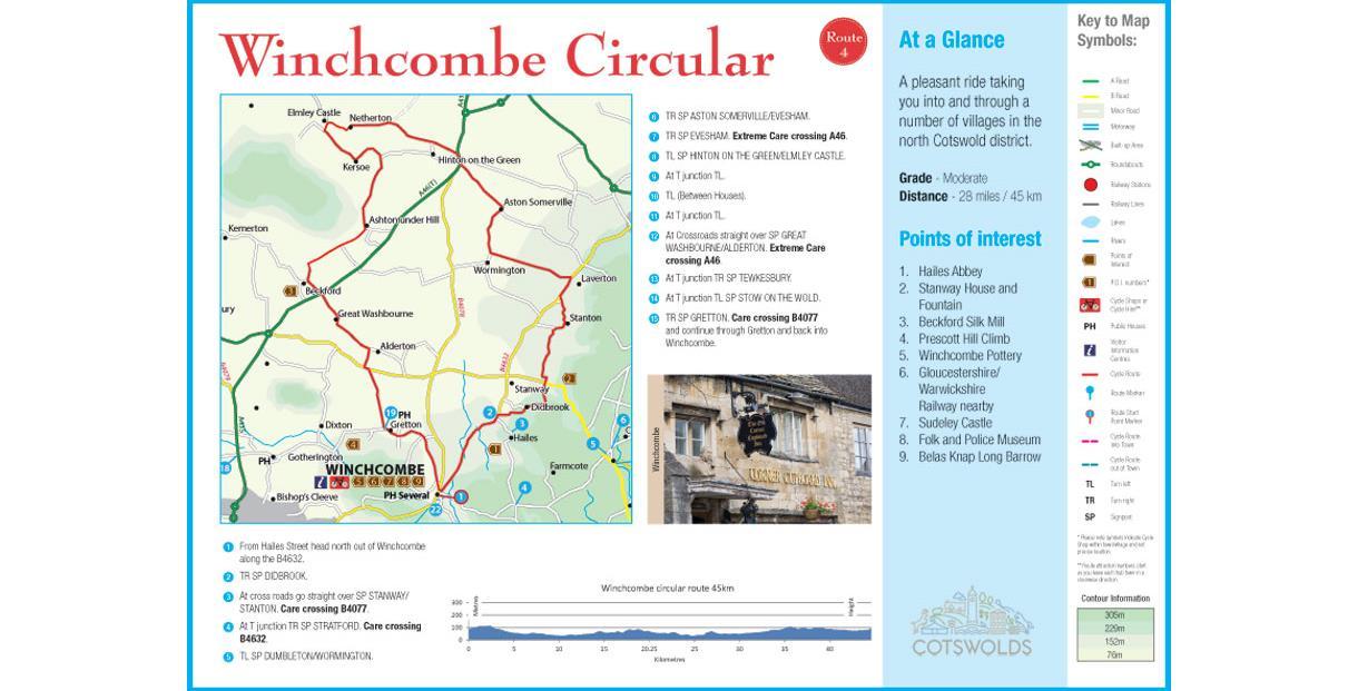 Winchcombe Circular Ride
