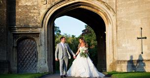 Thornbury Castle Weddings. © Martin Dabek Photography Archway