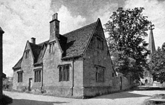The Old Grammar School Building in Bampton