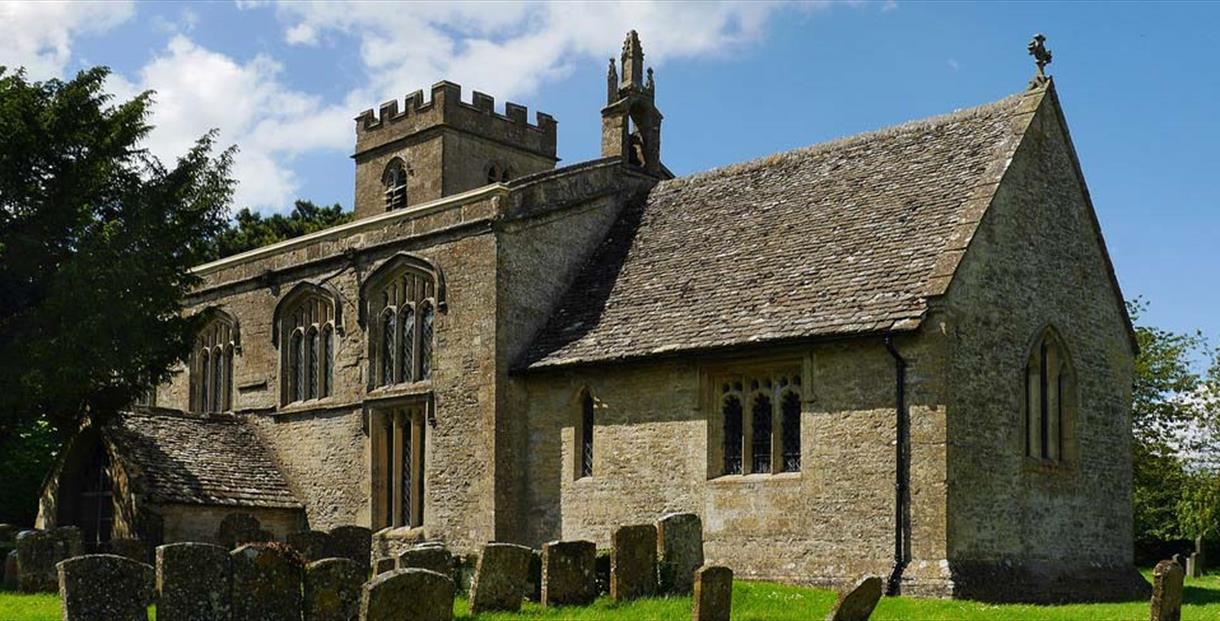 St Nicholas Church, Idbury