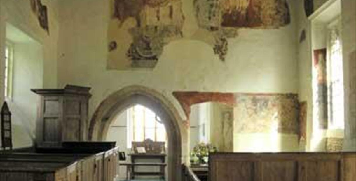 All Saints Church in Shorthampton - photo courtesy of Oxfordshire Churches