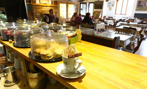 The Lamproom Cafe at Clearwell Caves