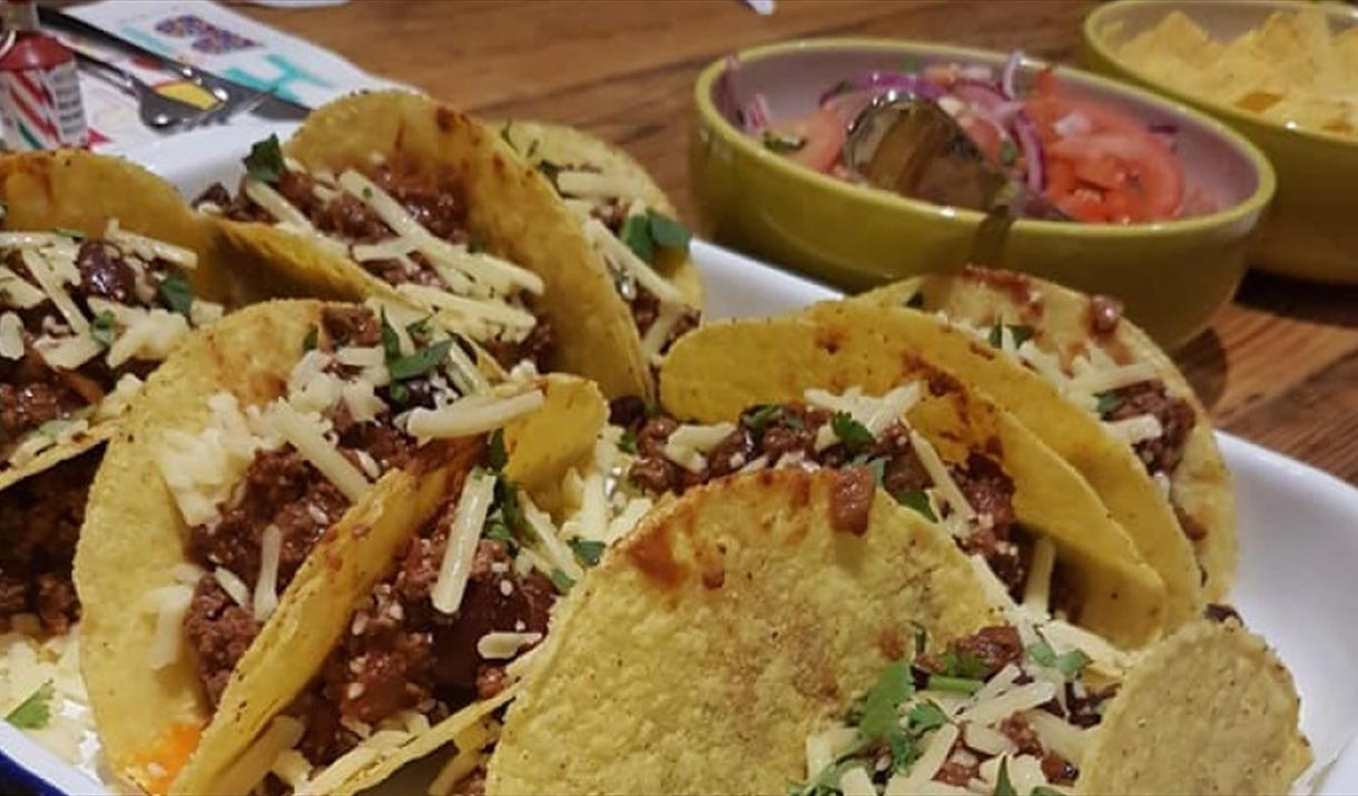 Mexican Cookery with Harts Barn Cookery School
