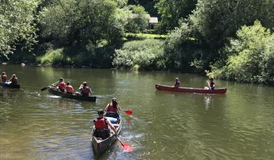 Canoe the Wye