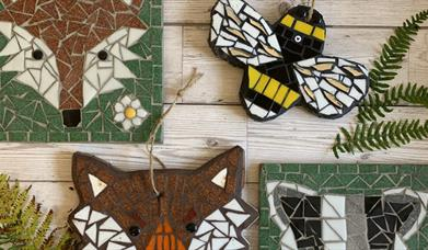 Woodland Animal Mosaic Workshop at The Inspiring Creativity Studio