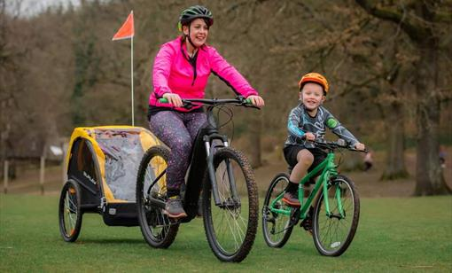 Young Family Cycling Adventure Experience - Full Day