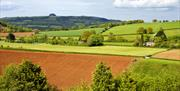 Great countryside near Newent and the iconic May Hill