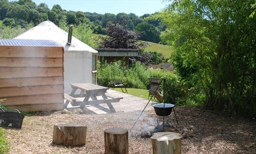 The Cider Orchard Yurt