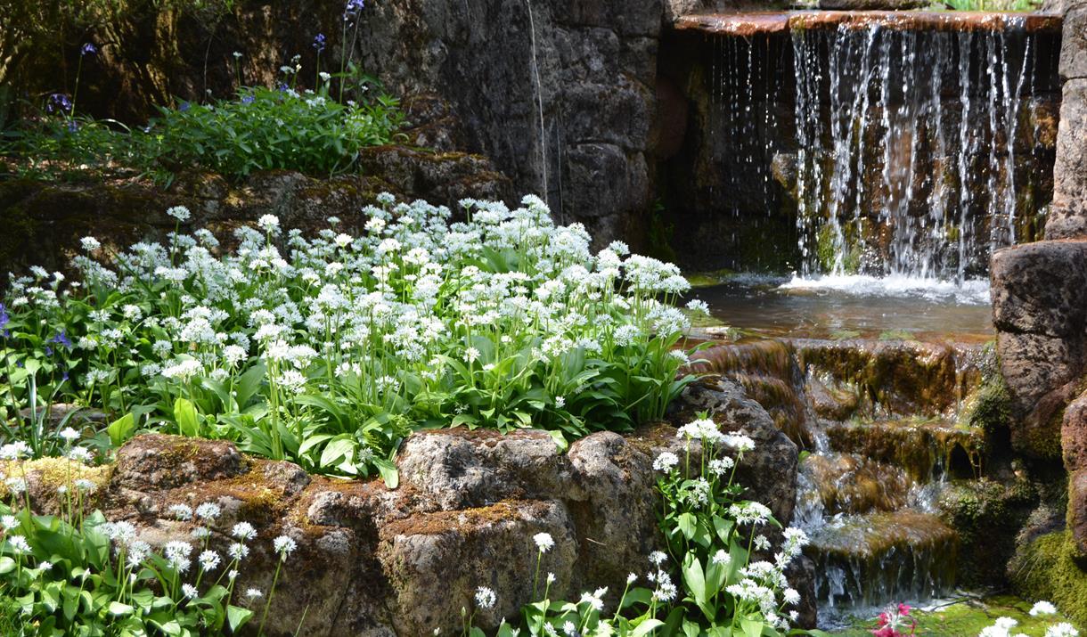 Lydney Park Spring Gardens-Roman Temple Site