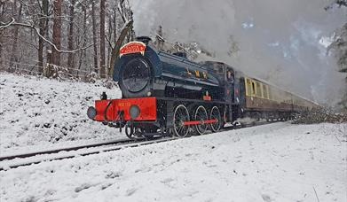 Dean Forest Railway - Rennes in the Snow