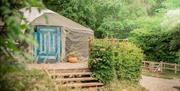 Hidden Valley Yurts in the Wye Valley
