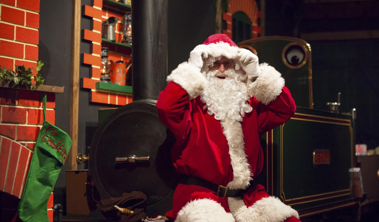 VIP Father Christmas Experience at Perrygrove Railway