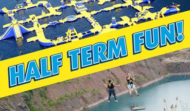 Half Term for fun at the National Diving & Activity Centre