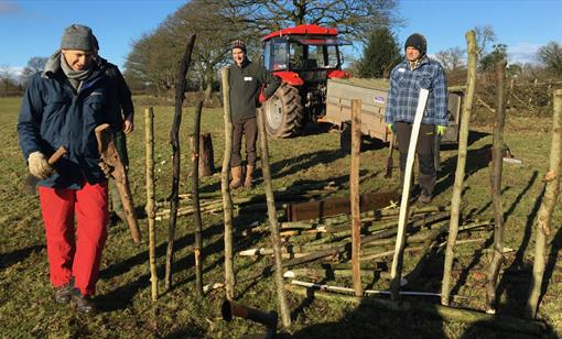 HEDGE-LAYING at Humble by Nature