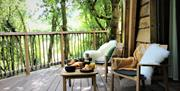 The Hudnalls Hideout - Luxury Treehouse Glamping, Wye Valley Gloucestershire