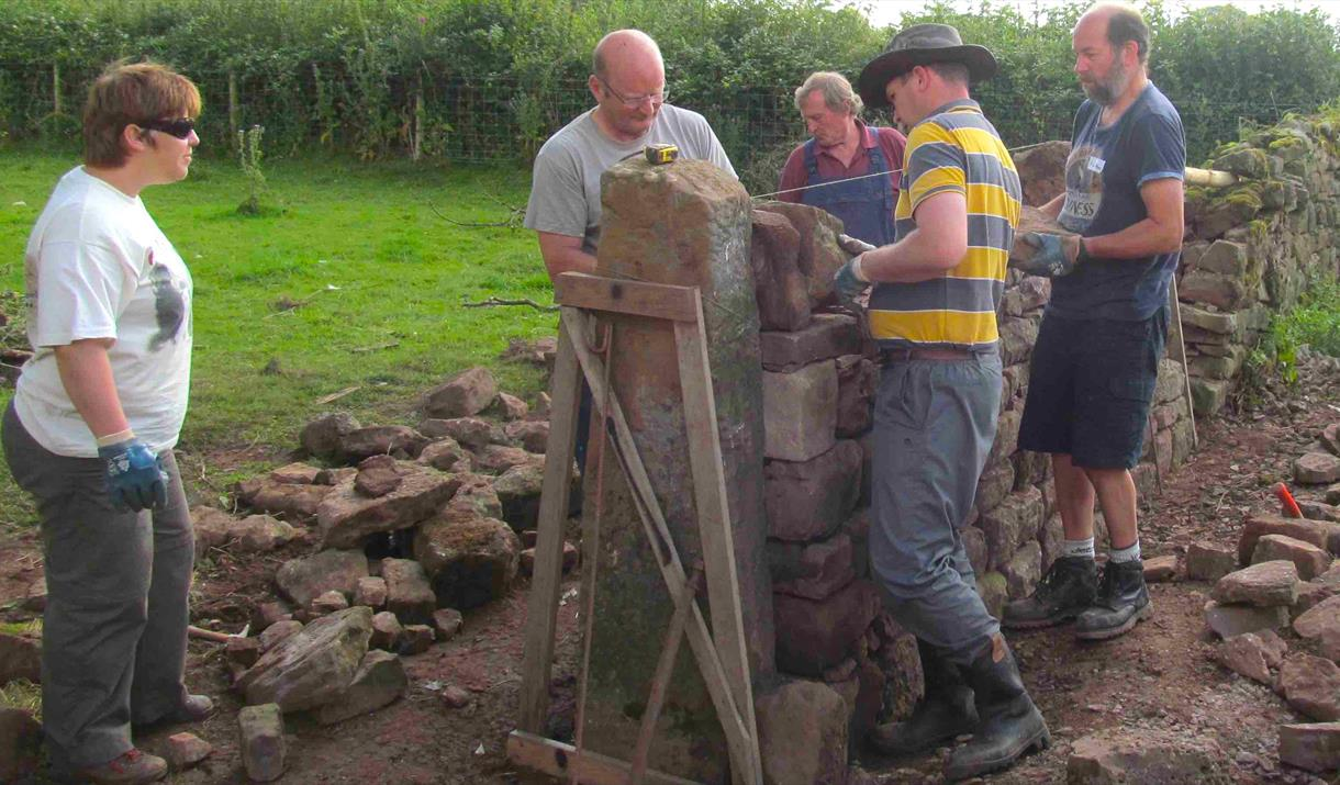 DRY STONE WALLING: 1 DAY INTRODUCTION at Humble by Nature
