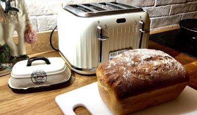 BREAD MAKING CLASS at Harts Barn Cookery School