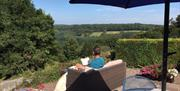 View from Robins Barn patio