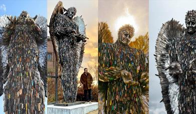 The Knife Angel is coming to Hereford