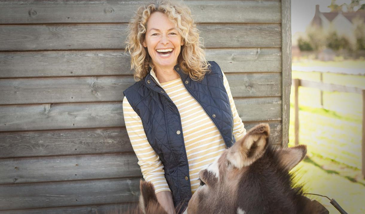 Kate Humble on her farm Humble by Nature