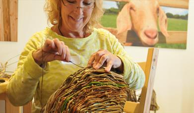 WEAVE A WILLOW FRAME BASKET at Humble by Nature