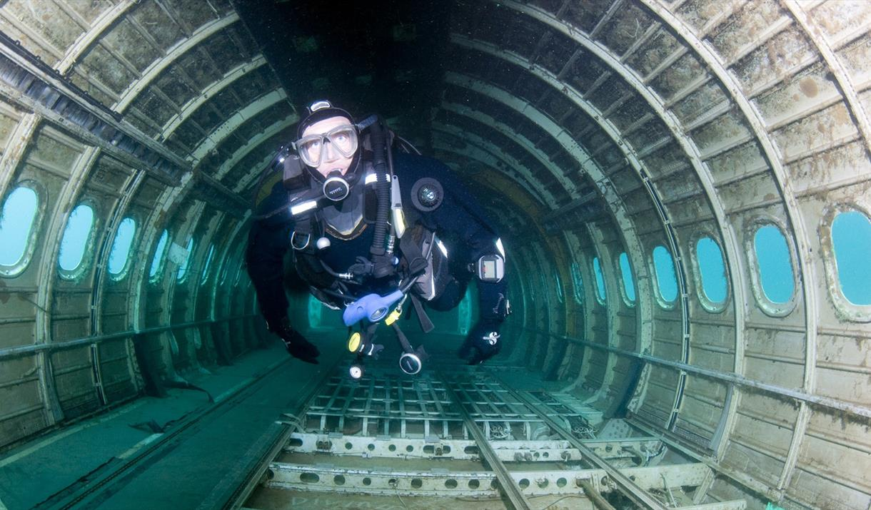 Scuba Diving at the National Diving & Activity Centre
