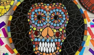 Mexican Day of the Dead Mosaic 'Themed Night' Experience