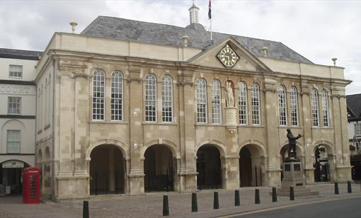 The Shire Hall, Monmouth