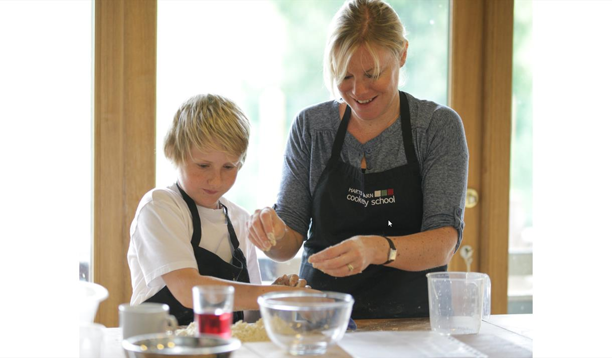 FAMILY COOKING EXPERIENCE at Harts Barn Cookery School